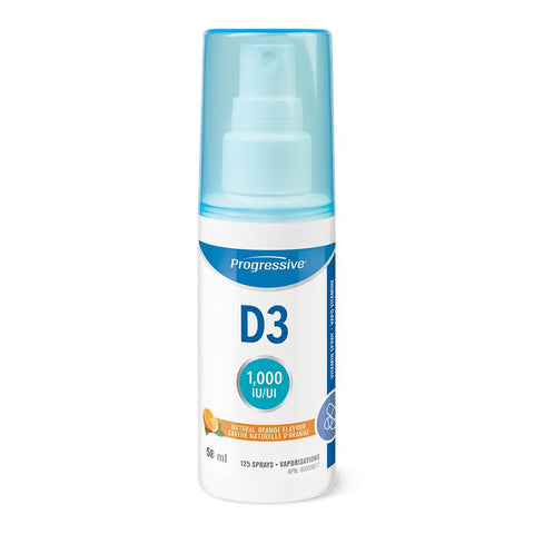 Progressive Vitamin D3 Spray (58ml)