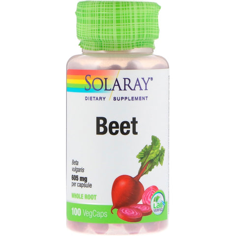 Solaray Beet Root 605 mg (100 VegCaps)