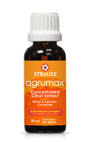 Strauss Agrumax Concentrated Citrus Antioxidant Complex (30ml)