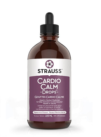 Strauss Naturals CardioCalm Drops Spearmint Flavour 225ml