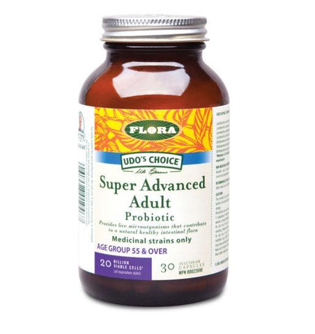 Flora Udo's Choice Super Advanced Adult Probiotic (30 VegCaps)