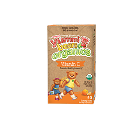 Hero Nutritionals Yummi Bears Organics Vegetarian Vitamin C
