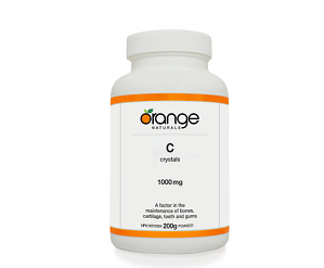 Orange Naturals Vitamin C Crystals 200g