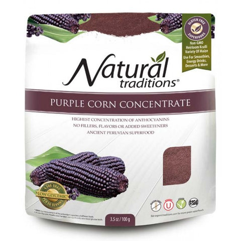 Natural Traditions Purple Corn Concentrate  100g