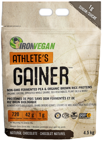 Iron Vegan Athlete's Gainer (4.5kg)
