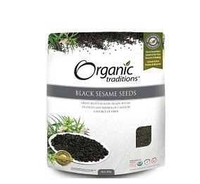 Organic Traditions Black Sesame Seeds 454g