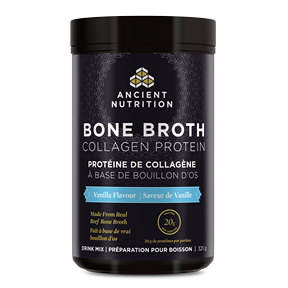 Ancient Nutrition Bone Broth Collagen Protein Vanilla 321g