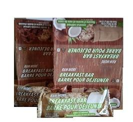 Schinoussa RAW-more Superfood Breakfast Bars (12 bars/box)