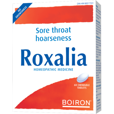 Boiron Roxalia® Sore Throat (60 Tablets)