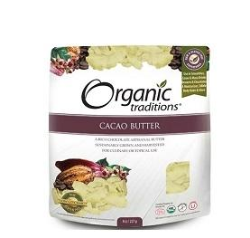 Organic Traditions Cacao Butter 454g