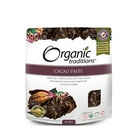 Organic Traditions Cacao Paste 454g