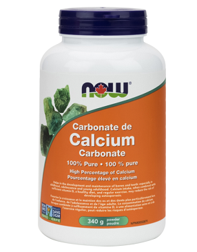 NOW Foods Calcium Carbonate Powder - 340g