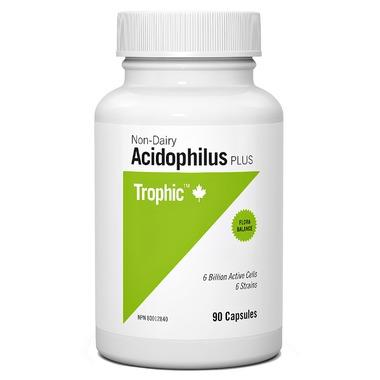 Trophic Non-Dairy Acidophilus Plus (90 Caps)
