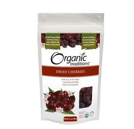 Organic Traditions Dried Cherries 100g