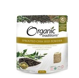 Organic Traditions Sprouted Organic Chia Powder 227g
