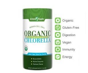 Green Foods Organic Chlorella 500mg (120 tabs)