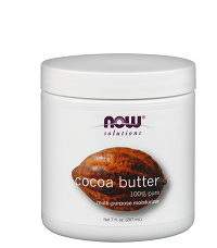 NOW Foods Cocoa Butter 100% Pure Moisturizer 207ml