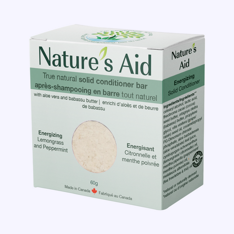 Nature's Aid True Natural Solid Conditioner Bar (60g)