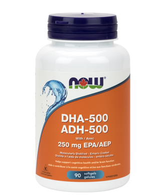 NOW Foods DHA-500 (90 Softgels)