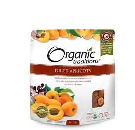 Organic Traditions Dried Apricots 227g