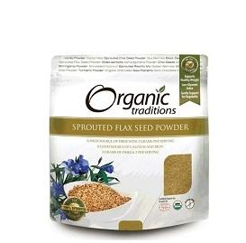Organic Traditions Sprouted Flax Seed Powder 454g