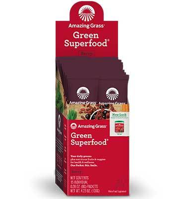 Amazing Grass Green Superfood Powder (Berry)