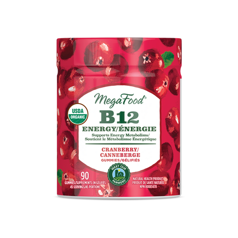 MegaFood B12 Energy Gummy (70 Gummies)