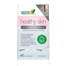 Genuine Health Healthy Skin Chocolate Soft Chews (45 pcs)