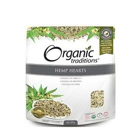 Organic Traditions Hemp Hearts 227g