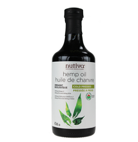 Nutiva Organic Hemp Oil 473ml