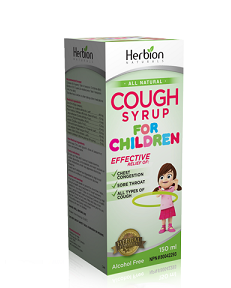 Herbion Cough Syrup For Children 150ml