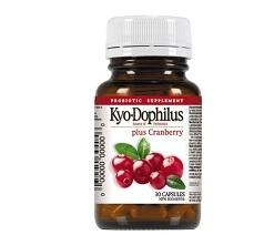 Kyolic Kyo-Dophilus Probiotic plus Cranberry (30 caps)