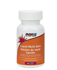 NOW Foods Liquid Multi Gels (60 Softgels)