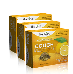 Herbion Cough Lozenges (3 pack/54 Count)
