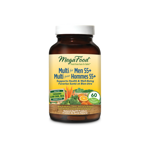 MegaFood Multi for Men 55+ (60 Tablets)