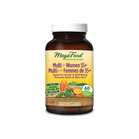 MegaFood Multi for Women 55+ (60 Tablets)
