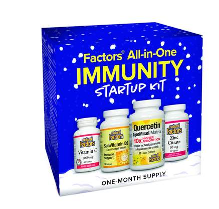Natural Factors All-in-One Immunity Startup Kit