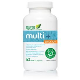 Genuine Health Multi+ Daily Joy (60 Tablets)