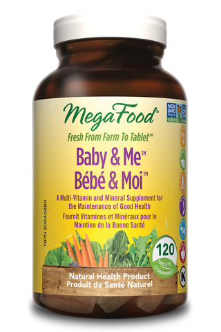 MegaFood Baby & Me (120 Tablets)