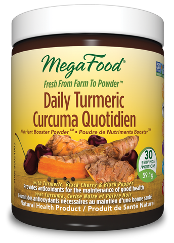MegaFood Daily Turmeric Nutrient Booster Powder (59.1g/30 Serving)