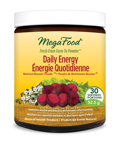 MegaFood Daily Energy Nutrient Booster Powder (52.5g - 30 Serving)