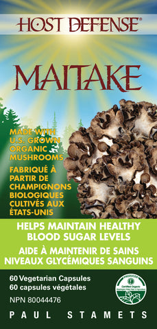 Host Defense Mushrooms Maitake Capsules