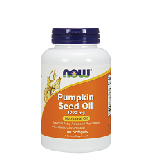 Now Pumpkin Seed Oil 1,000mg (100 Softgels)