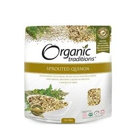 Organic Traditions Sprouted Royal White Quinoa 340g