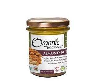 Organic Traditions Roasted Almond Butter 180g