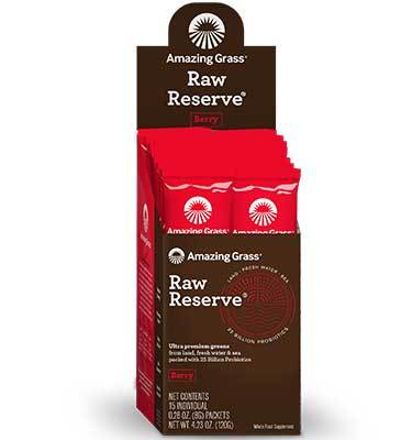 Amazing Grass Berry Raw Reserve Green Superfood
