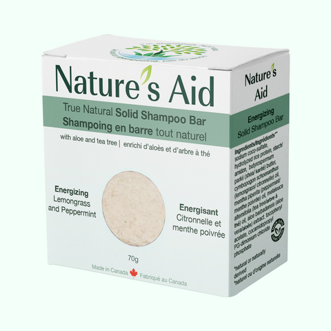 Nature's Aid True Natural Solid Shampoo Bar (70g)
