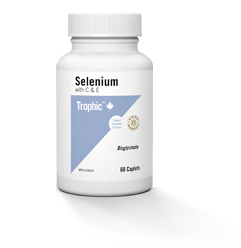 Trophic Selenium with C & E (60 Caplets)