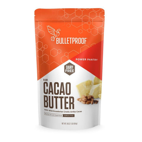 Bulletproof Upgraded Cacao Butter (454g)