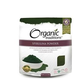 Organic Traditions Spirulina Powder 150g